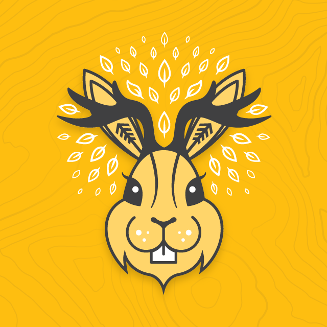 run-club-trail-run-mascot-jackalope